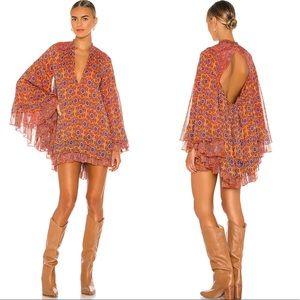 Free People NWT Gabi Floral Tunic/Mini Dress
